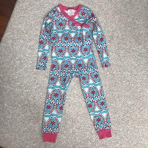 Hanna Andersson Candycane Holiday Christmas Pajama